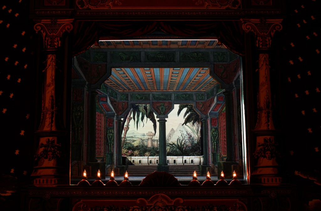 Papiertheater-Zauberflöte, Akt I, 9-14
